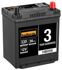 Halfords 12v Lead Acid Battery HB056