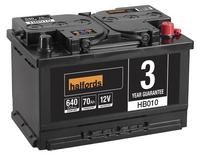 Halfords Lead Acid Battery HB010