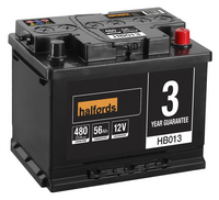 Halfords Lead Acid Battery HB013