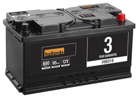 Halfords Lead Acid Battery HB019