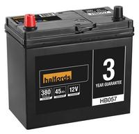 Halfords Lead Acid Battery HB057