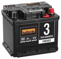 Halfords Lead Acid Battery HB063