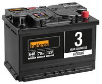 Halfords Lead Acid Battery HB096