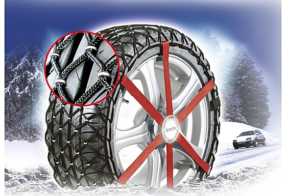 Michelin Easy Grip W12 Composite Snow Chains