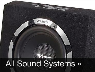 Midbass sound systems