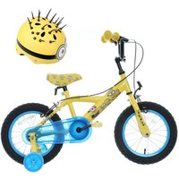 Minions Kids Bike and Helmet bundle