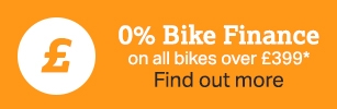 Zero percent bike finance
