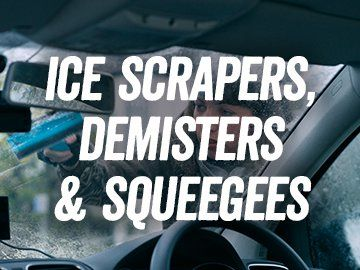 Ice Srapers, Demisters and Squeeges