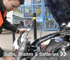 Bulbs, Blades & Batteries