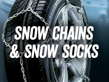 Snow Chains and Snow Socks