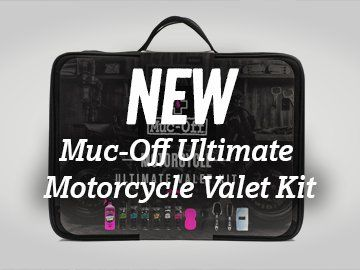 Muc Off Motorcycle Valet Kit