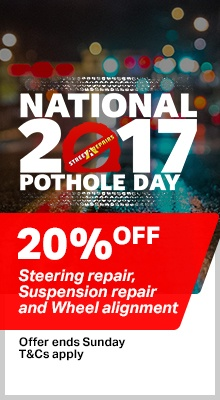 National Pothole Day