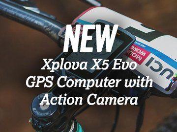 New Xplova X5 Evo GPS Computer with Action Camera
