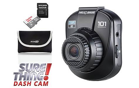 image of Nextbase Dash Cam 101 and GO pack Sure Thing bundle