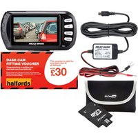 Nextbase Dash Cam 302G fully fitted bundle
