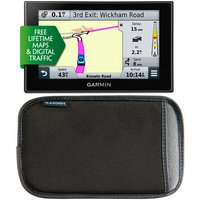 "Garmin Nuvi 2599LMT Sat Nav and Garmin 5"" Case bundle"