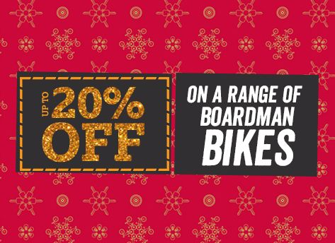 Up to 20pc off boardman