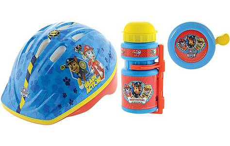 image of Paw Patrol bike accessories bundle