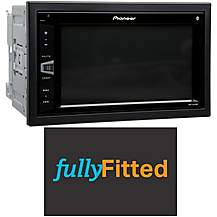 image of Pioneer MVH-AV290BT Car stereo fully fitted bundle