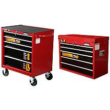 image of Halfords professional 5 drawer chest & 7 drawer chest