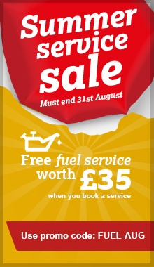 Summer Service Sale - Free Fuel Service - 2017