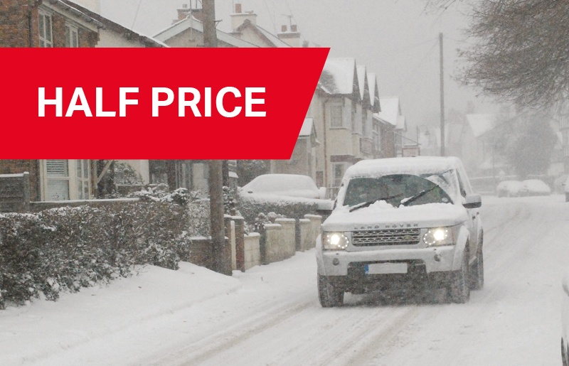 Half Price Winter Preparation Service