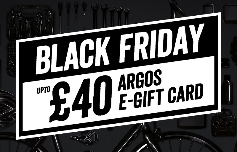 Black Friday: Up to £40 Argos e-Gift card with Firestone tyres
