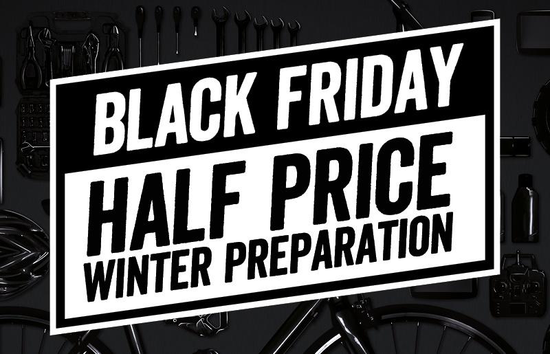 Black Friday: Half Price Winter Service