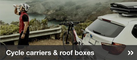 Cycle carriers & roof boxes