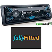 image of Sony DSX- A500BD Digital Car Stereo with fitting bundle