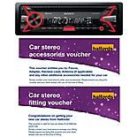 Sony MEX-N4100BT Car Stereo with fitting and accessories voucher bundle