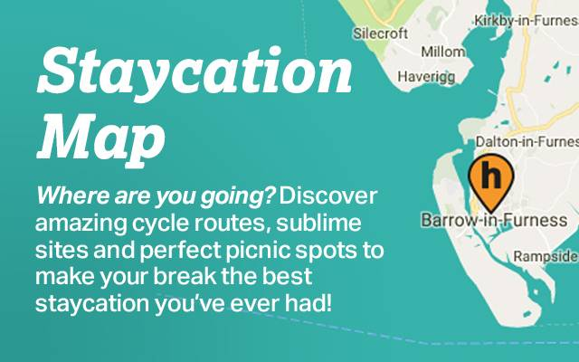 Staycation Map