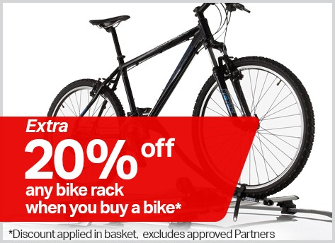 20% off any bike rack