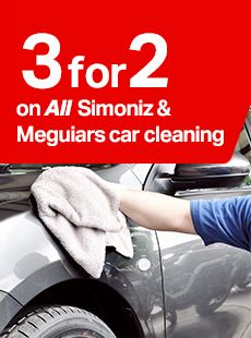 3 for 2 on all Simoniz and Meguairs