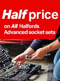 halfords advanced socket sets