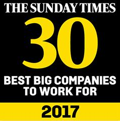halfords sunday times award - top 30