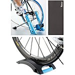 image of Tacx Blue Matic T2650 Smart Turbo Trainer Bundle with Tacx Mat & Riser Block