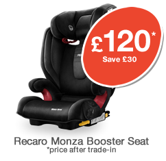 Recaro Monza High Back Booster Seat