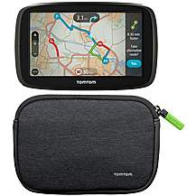 "image of TomTom GO 50 5"" Sat Nav & Carry Case Bundle"