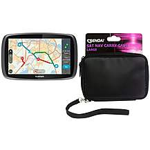 image of TomTom GO 5100 Sat Nav with MyDrive & Carry Case Bundle