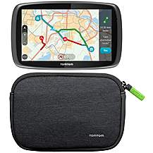 "image of TomTom GO 510 5"" Sat Nav with MyDrive & TomTom 4/5"" Soft Carry Case Bundle"