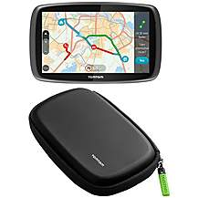 "image of TomTom GO 6100 Sat Nav with MyDrive  & TomTom 6"" Semi-Hard Carry Case Bundle"