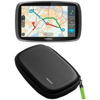 "TomTom GO 6100 Sat Nav with MyDrive & TomTom 6"" Semi-Hard Carry Case Bundle"