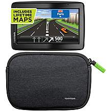 image of TomTom Via 135 M Special Edition & TomTom Soft Carry Case Bundle