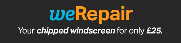 Halfords we repair chipped windscreens