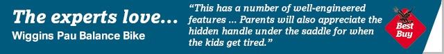 independent Wiggins Pau Balance Bike review