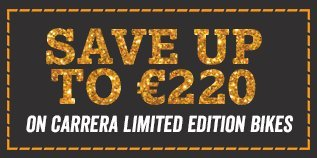 Save ?220 on Carrera Limited Edition Bikes