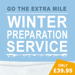 Go the extra mile with our Winter Preparation Service - Only £39.95