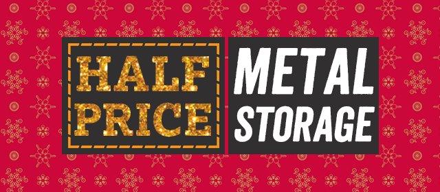 Half Price Metal Storage