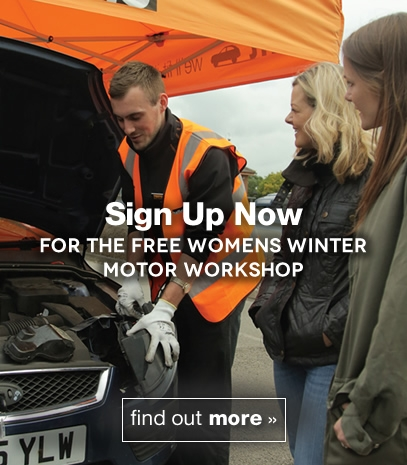 Sign up now for the Free Womens Winter Motor Workshop